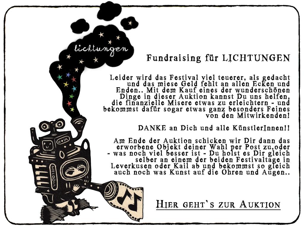 Fundraising Lichtungen
